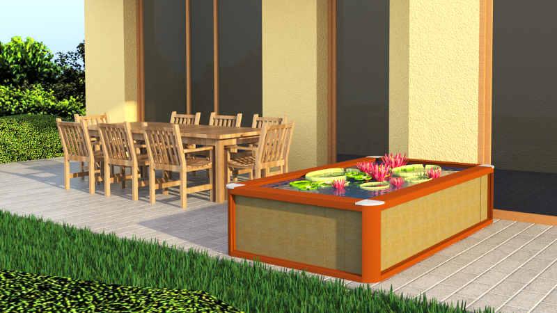 gartenteich typen teiche. Black Bedroom Furniture Sets. Home Design Ideas