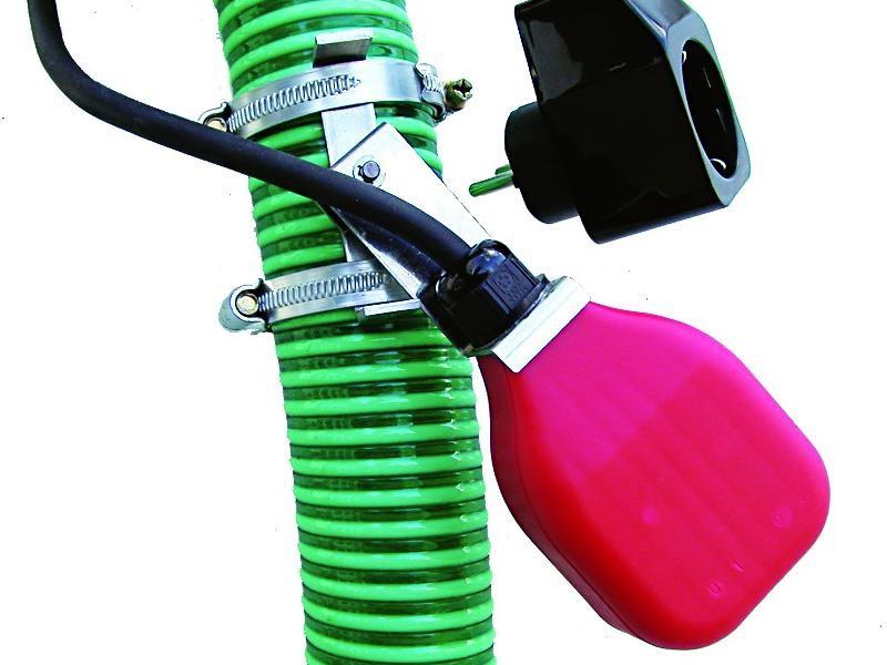 Die einfachste Kontrolle des Pumpenbetriebs