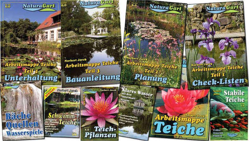 Anleitungen für den Teichbau