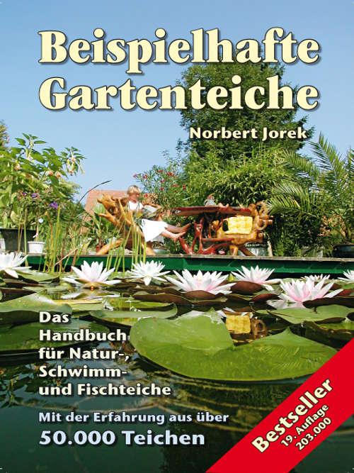 Titelblatt des Teichbuches Beispielhafte Gartenteiche