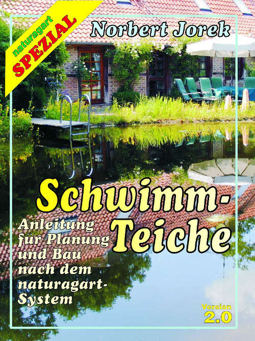 Titelblatt der Anleitung zum Bau von Schwimmteichen