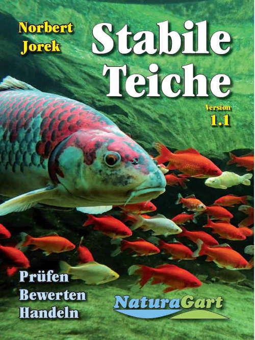 Titelblatt des Handbuches Stabile Teiche