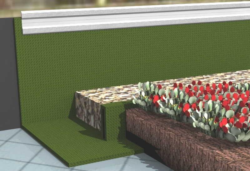 die arbeitsschritte dachbegr nung. Black Bedroom Furniture Sets. Home Design Ideas