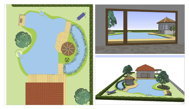 Planungshilfe lassen sie planen teichplanung for Gartenteich planen teichbau
