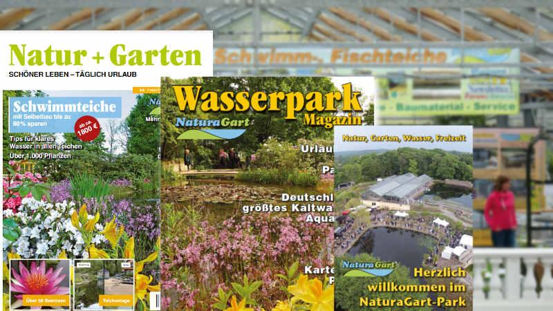 Sie Können Alle Magazine Hier Durchblättern Oder Bei NaturaGart Anfordern.