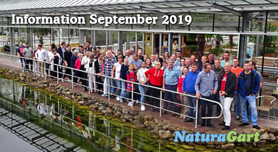 NaturaGart Information September 2019