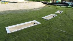 Sedimentfalle einbauen