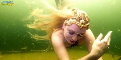 Meerjungfrau Mermaid Freediving Apnoetauchen