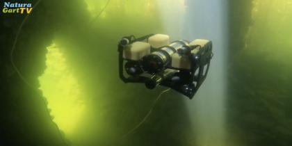 Modell U-Boote im Unterwasserpark