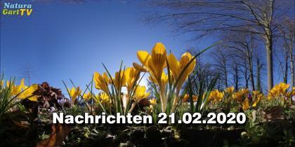 NaturaGart Nachrichten 21. Februar 2020