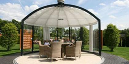 Allwetter Pavillon