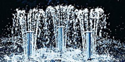 Springbrunnenpumpen, Fontänen