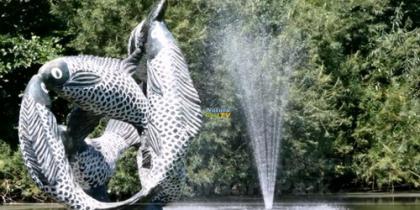 Afrikanische Kunstausstellung im NaturaGart-Park