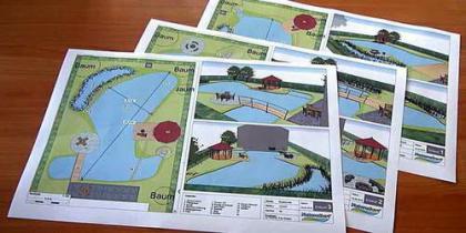 Planungshilfe für Teiche