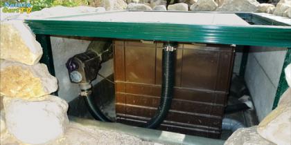 Filterstation für Teiche