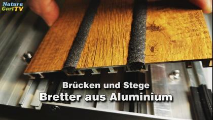 Bretter aus Aluminium