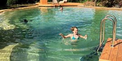 Schwimmteich 300 m³