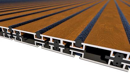 Aluminium-Oberfläche