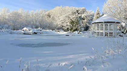 Teiche im Winter