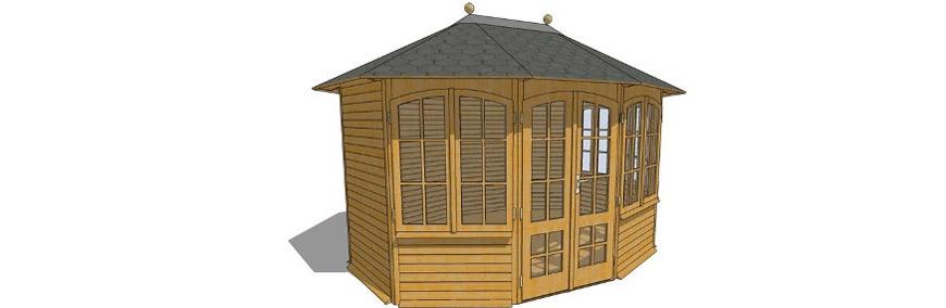 naturagart shop pavillon romantica online kaufen. Black Bedroom Furniture Sets. Home Design Ideas