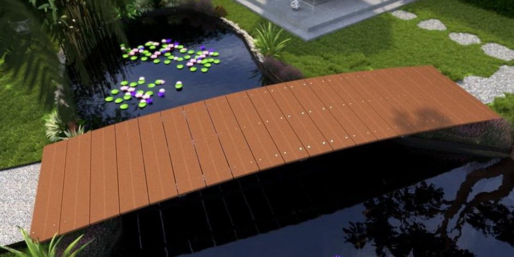 NaturaGart Teichbrücken für den eigenen Garten