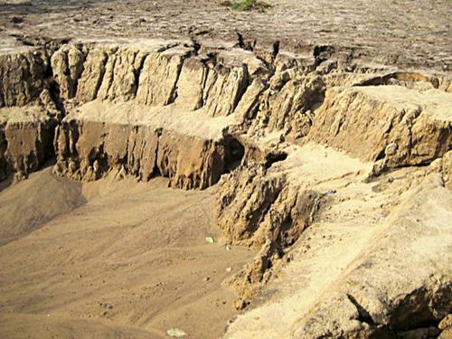 Erosion vermeiden