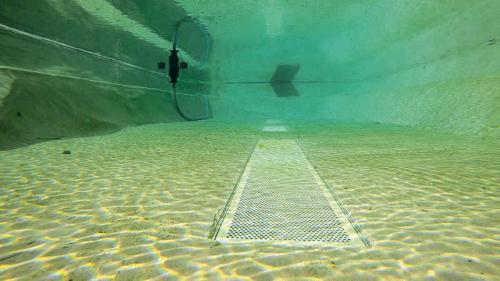 Die Tiefe des Teiches