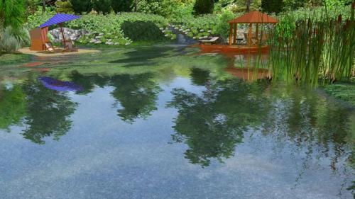 Wassergarten-Traum