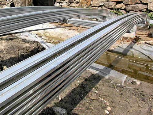Gedoppelte Träger für Brücken bis 8 m Länge