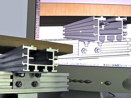 Alu-Konstruktionen von NaturaGart