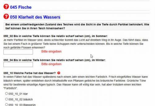NaturaGart-Teich-Statusbericht