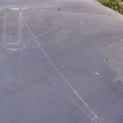 Komplettpaket-Laubschutznetz Set B