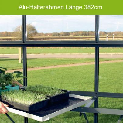 Alu-Halterahmen für Pflanzkisten 380