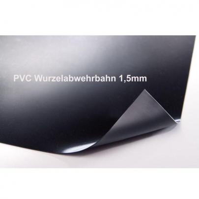 NaturaGart PVC-Wurzelabwehrbahn, 1,5 mm, Rollenware, 2 m breit