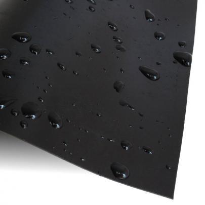 Teichfolie, NaturaGart-PE, 0,8 mm, schwarz, Rollenware, 6 m breit