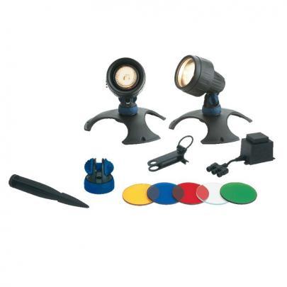 Unterwasser-Scheinwerfer Set 2, 2 Lampen inkl. Trafo