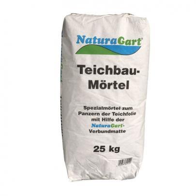 Teichbau-Mörtel