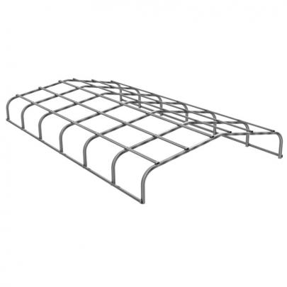 Teichüberdachung 6 x 3,5 m, Alu blank