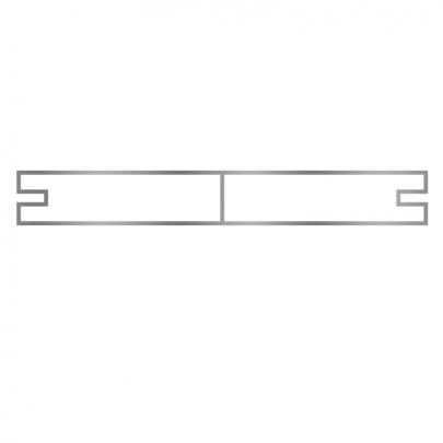 Alu-Brett Konstruktionsdiele, 100 cm