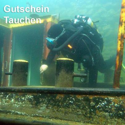 Tauchen im NaturaGart-Unterwasserpark, Gutschein per Email