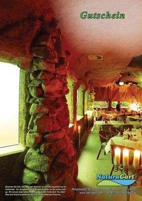 Candle-Light-Dinner, Gutschein per Post
