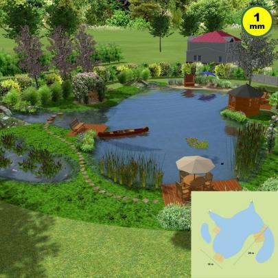 Idealer Schwimmteich Set 3
