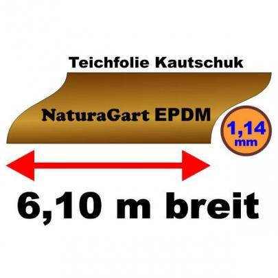 naturagart shop teichfolie naturagart epdm kautschuk 1 14 mm dick online kaufen. Black Bedroom Furniture Sets. Home Design Ideas
