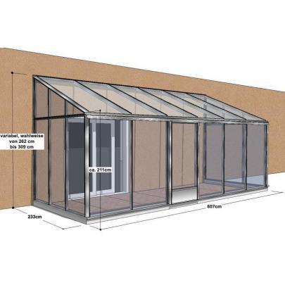 naturagart shop wintergarten solis iso 233 607 online kaufen. Black Bedroom Furniture Sets. Home Design Ideas