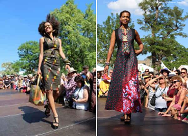 Modeschau und Benefizkonzert