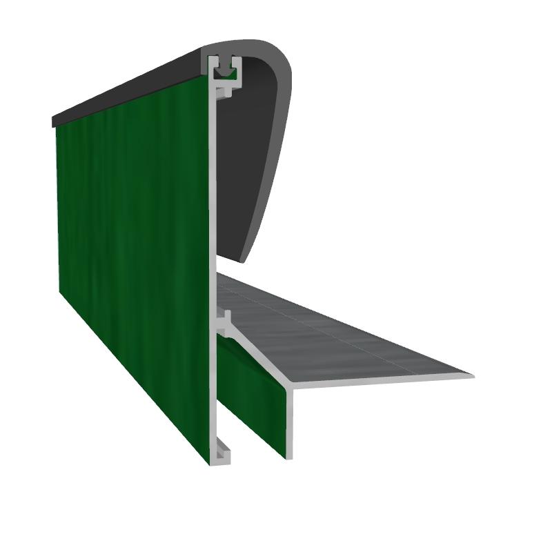 naturagart shop dachrandprofil decogard aluminium farbig pulverbeschichtet online kaufen. Black Bedroom Furniture Sets. Home Design Ideas