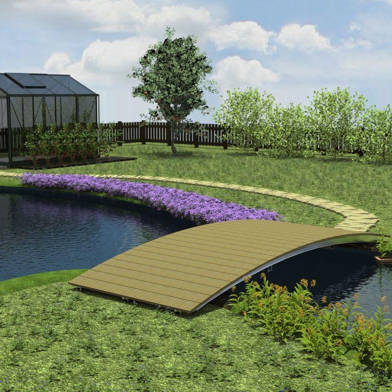 naturagart shop br cke 150 cm x 400 cm online kaufen. Black Bedroom Furniture Sets. Home Design Ideas
