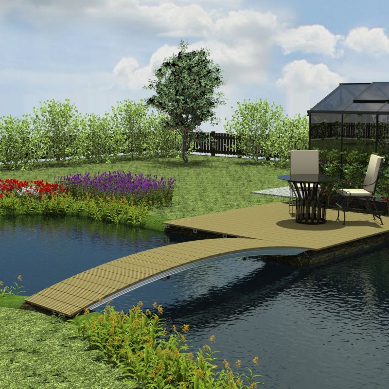 naturagart shop br cke 100 cm x 400 cm online kaufen. Black Bedroom Furniture Sets. Home Design Ideas