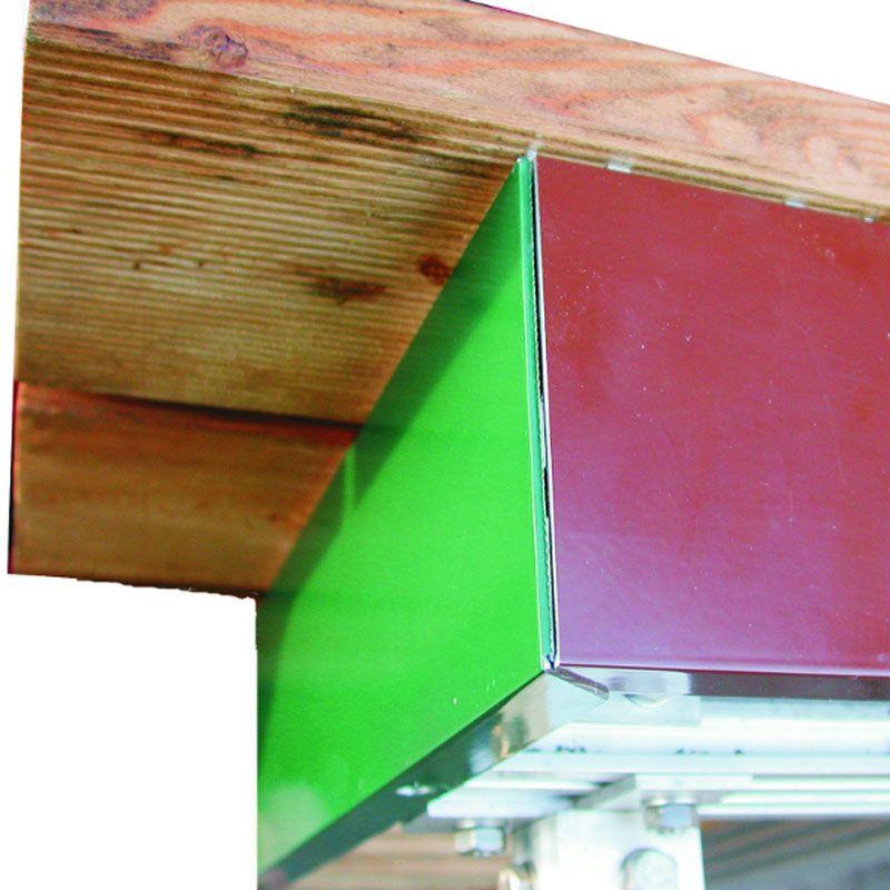 naturagart shop blende f r aluprofil gr n online kaufen. Black Bedroom Furniture Sets. Home Design Ideas