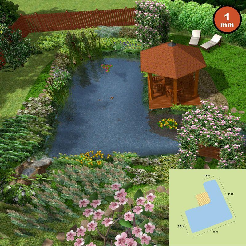 naturagart shop klein biotop ca 63 m oberfl che l. Black Bedroom Furniture Sets. Home Design Ideas
